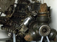 Engine from a Junkers Ju88