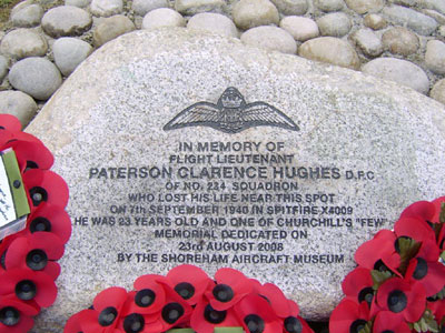 Memorial to Pat Hughes